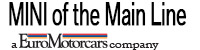EuroMotorcars MINI on the Main Line Logo